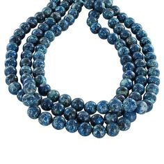 CHRYSOCOLLA Beads 10mm Round Blue from New World Gems