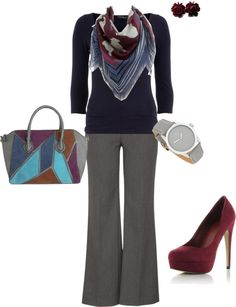 """""""Fall Work"""" by marys54 on Polyvore"""