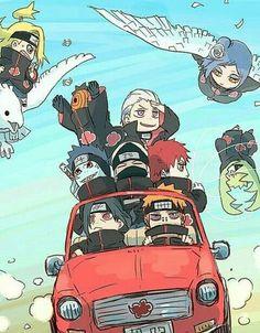 Akatsuki I love how Itachi and Pain are just like, uh um, there kids alright(≧▽≦) Anime Chibi, Anime Naruto, Naruto Meme, Naruto Akatsuki Funny, Tenten Naruto, Naruto Shippuden Anime, Itachi Uchiha, Hinata, Manga Anime