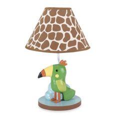 Lambs & Ivy® Peek-a-Boo Jungle Lamp - BedBathandBeyond.com
