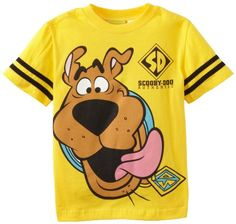 Scooby Doo Boys 2-7 Scooby Face Short Sleeve Tee coupon| Games Information