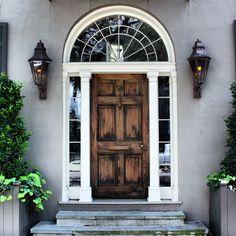 Weathered door with great windows:.