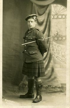 Gordon Highlander, WWI