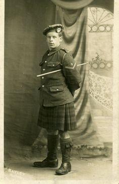 Gordon Highlander, WWI