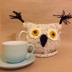Items similar to Owl Tea Cosy - Owl Gift - Owl tea Cozy Tea Lovers Gift - Home Decor Rustic Decor on Etsy Knitted Owl, Cute Presents, Tea Cozy, Lovers Gift, Christmas Shopping, Shopping Mall, Gifts For Friends, Rustic Decor, Cosy