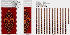 22 around tubular bead crochet rope pattern Bead Crochet Patterns, Bead Crochet Rope, Loom Patterns, Crochet Beaded Necklace, Tapestry Crochet, Free Pattern, Diy And Crafts, Beads, Jewelry