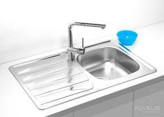 AS-Zool 20 best stainless steel sinks Best Stainless Steel Sinks, Undermount Stainless Steel Sink, Stainless Kitchen, Undermount Sink, Corner Sink Kitchen, Kitchen Sinks, Bathroom Sink Faucets, Inset Sink, Sink Drain
