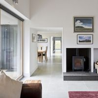 Tigh na Croit by HLM Architects gets UK Passivhaus Trust Awards Living Area, Living Spaces, Passive House Design, House Cladding, House Facades, Small Terrace, Building Concept, Bungalow House Plans, Green Architecture