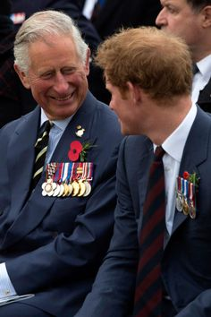 Prince Harry has a great relationship with his family, including the one with his father, Prince Charles. We're seeing father-son-grandson (or granddaughter!) bonding sessions occurring often.