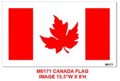 Fun Canadian Flag x 10 mil mylar Stencils, Flag, Canada, Art, Ideas, Art Background, Kunst, Science, Templates