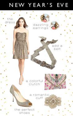New Year's Eve | Kiki's List.// Love the cuff!!