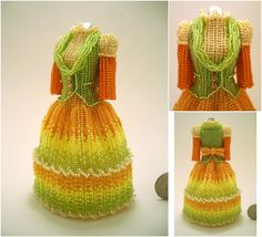 "Custom - Eumelia Eriades Bead Dress by pinkythepink on DeviantArt ---------da""Perline""diⓛⓤⓐⓝⓐ"