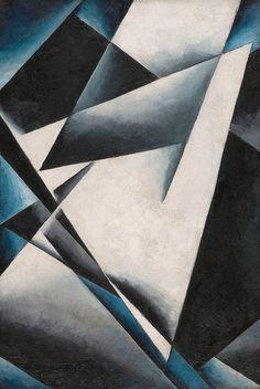 Lyubov Popova, Painterly Architectonics, 1918-19