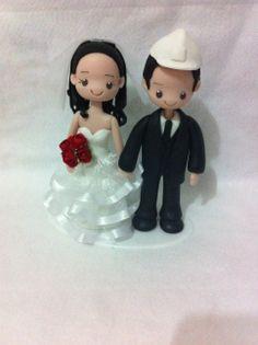 Casal de Noivos Engenheiro