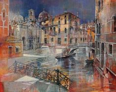 Mantova: Angelo Bellini 1938 | Italian Landscape painter