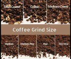 There are a few standards while grinding coffee beans coarse or fine that are expected to explore check out what are the different coffee grinds sizes Coffee Uses, Fresh Coffee, Coffee Type, Coffee Tasting, Coffee Drinkers, Grinding Coffee Beans, Roasting Times, Different Types Of Coffee