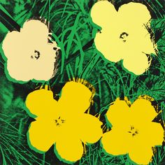 Untitled from Flowers  Andy Warhol (American, 1928-1987)    (1970). One from a portfolio of ten screenprints
