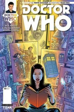 Titan Comics' Doctor Who: The Tenth Doctor #2.3 is on sale now!
