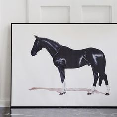 """We are very proud to present our new series of Art Collaborations: First up is Stockholm based artist Johan Ray Pedersen (b. 1975). Johan is a visual artist that mainly focus on oil paintings and collage through different techniques. As an artist he likes to explore and challenge stereotypes. Horses have been a recurring theme for Johan over the years. Order your limited edition of """"Häst"""", 2016, at artilleriet.se #artillerietstore #artillerietstudio #artillerietartcollaboration…"""