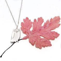 Owl Necklace by na na na naa