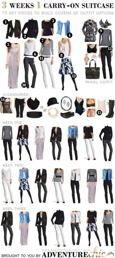 Adventure Chic - a blog full of travel tips and ideas for looking fabulous on the fly | Packing Guide for Cool Weather