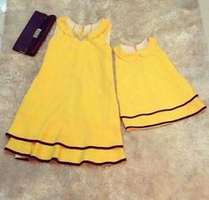 s Clothing Children' Mom And Baby Dresses, Mommy And Me Outfits, Little Girl Dresses, Kids Outfits, Sewing Baby Clothes, Baby Clothes Patterns, Girl Dress Patterns, Frocks For Girls, Kids Frocks