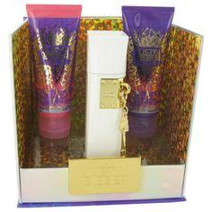 Gift Set -- 3.4 oz Eau De Parfum Spray + 3.4 oz Body Lotion + 3.4 oz Shower Gel