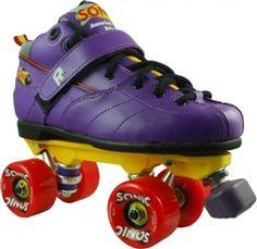 The Rock Sonic Outdoor Roller Skates  www.skateoutloud.com