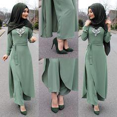 Anzeige l Werbung Shoes / Schuhe / Ayakkabilar - . Abaya Fashion, Modest Fashion, Fashion Dresses, Fashion Muslimah, Muslim Women Fashion, Islamic Fashion, Mode Abaya, Hijab Style, Hijab Casual