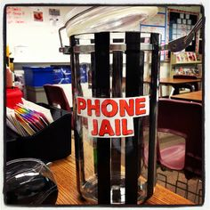 Phone Jail from www.hungergameslessons.com Click for more images