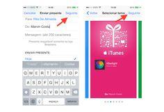 Escolhendo o cartão de presente para enviar para enviar um aplicativo de presente pela App Store (Foto: Reprodução/Marvin Costa)