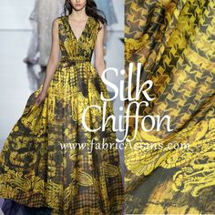 Hey, I found this really awesome Etsy listing at https://www.etsy.com/listing/234203088/printed-silk-fabric-yellow-paisley-silk