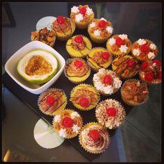 Cupcakes de maracuya