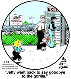 Family Circus for 7/29/2017