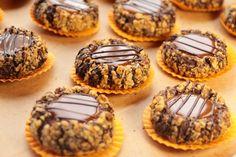 Çikolatalı Ve Karamelli Kurabiye