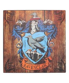 Open Road Media Harry Potter Ravenclaw Crest Wall Art