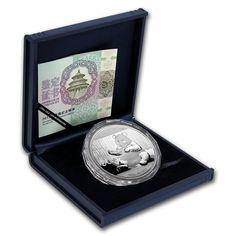China Asia 5pc China 1996 Invention Discovery Silver Coin Set No Coa No Box