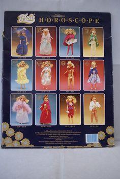 BT Toys FLEUR doll HOROSCOPE fashion #385-1249 NRFB Dutch Sindy outfit 80's | eBay