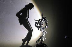 shadow dancing Michael Jackson
