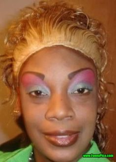 49 Best Really Really Bad Make Up Images