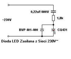 Diody LED - jakie rezystory na jakie napięcia