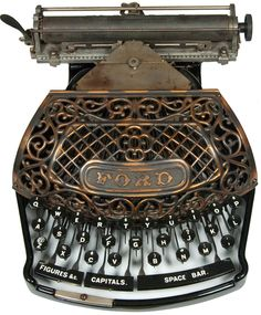 Ford typewriter - 1895 (Martin Howard Collection)