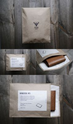 Simple clean packaging for handmade products