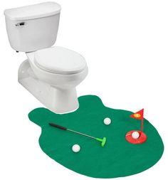 Golf Hole Putting Green Toilet