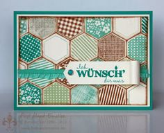 Stampin' UP! Six Sided Sampler by First Hand Emotion: IN{K}SPIRE_me Challenge #118: Blue