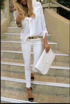 Chic Summer Outfits for Girl 26 Trendy Summer Work Outfits for Women 2018 3 Casual Summer Outfits For Women, Summer Work Outfits, Casual Work Outfits, Mode Outfits, Fashion Outfits, School Outfits, Fashion Styles, Grunge Outfits, 30 Outfits