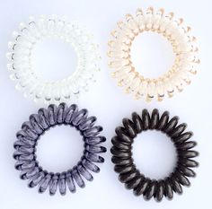 SwirlyDo No Pony Line! No Slip! - Small Hair Ties, Neutral B (4-pieces) * Check out this great product.
