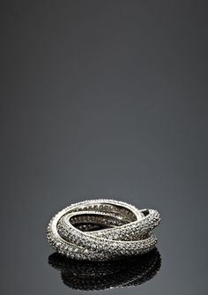 MADISON COLLECTION Pave Intertwined Ring