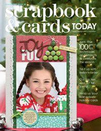 2011 - winter - past scrapbook and cards magazine