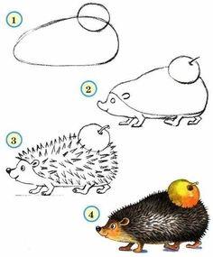 zoo drawings animals draw easy drawing animal easily fabartdiy sketches cartoon